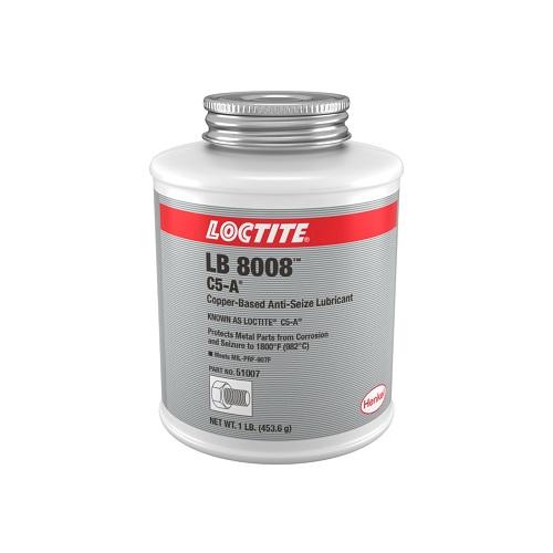 51007-454G-LOC, COPPER A/SEIZE 454GM LB8008, Loctite