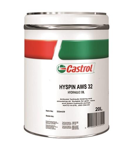 3334429-CASTROL, HYSPIN AWS32 20L, Castrol