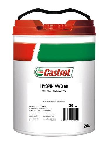 3334435-CASTROL, HYSPIN AWS68 20L, Castrol