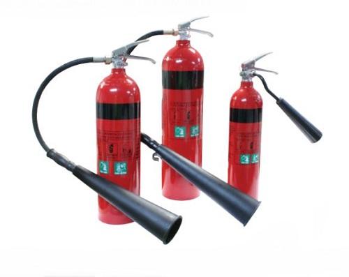 EXT-CO2-5KG-DIX, 5 KG CO2 FIRE EXTINGUISHER, Dixon