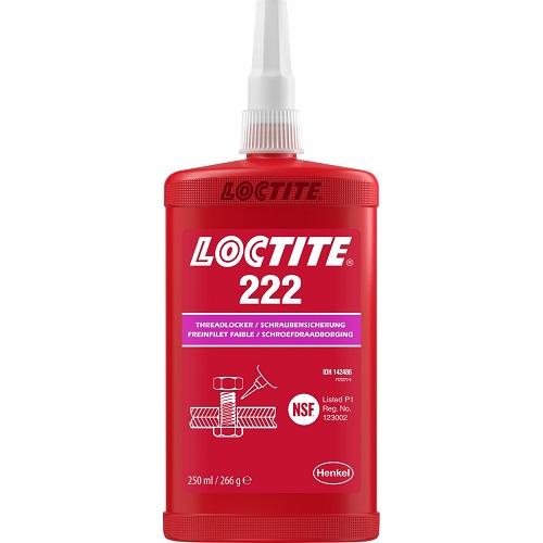 222-250ML-LOC, LOW STRENGTH THREADLOCK250ML, Loctite