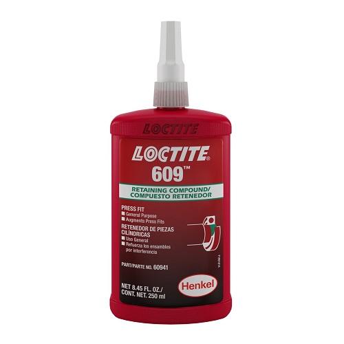 609-250ML-LOC, M/H STRENGTH COMPOUND 250ML, Loctite